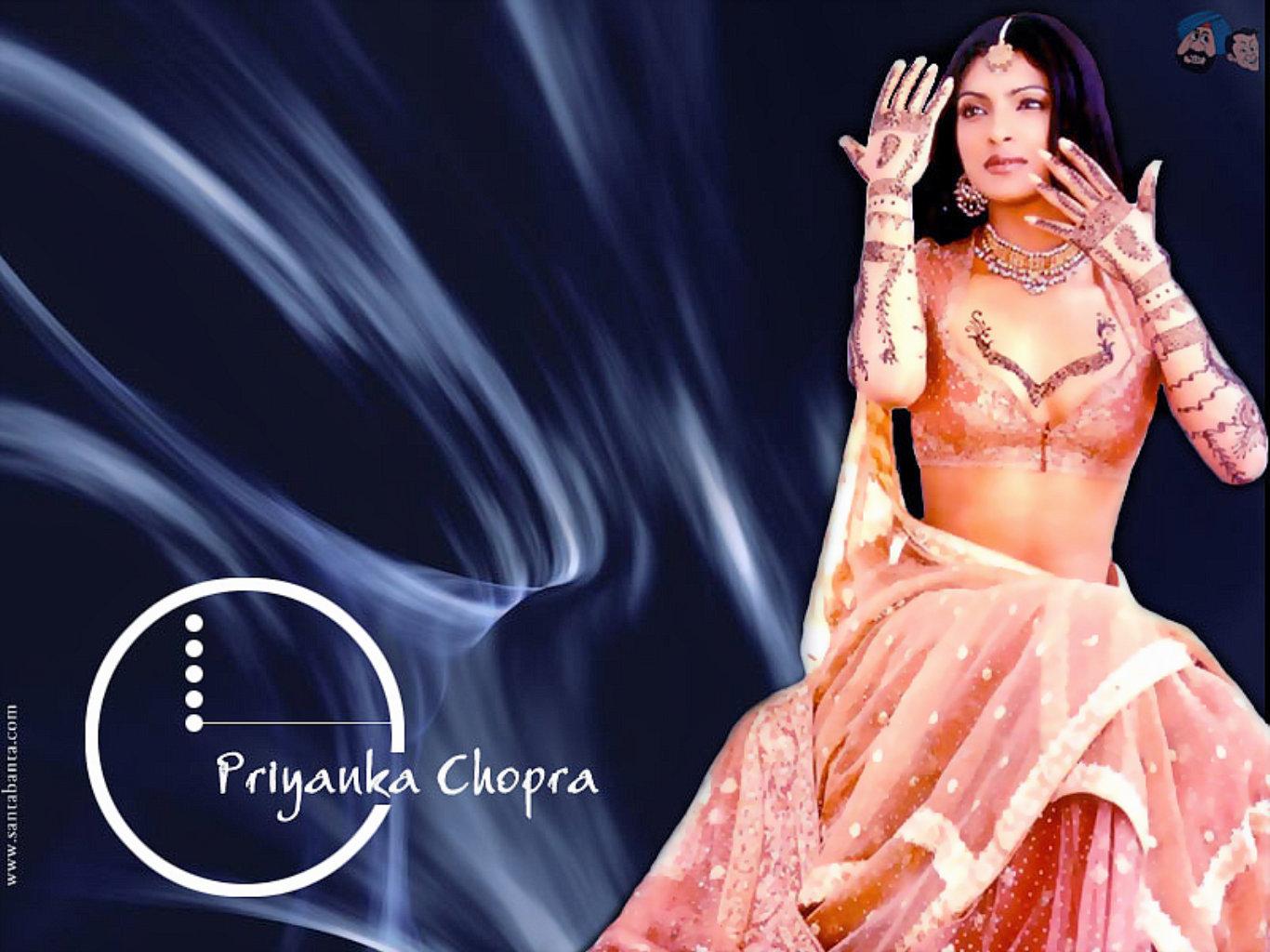 Priyanka Chopra Indian Dress Hot Wallpaper
