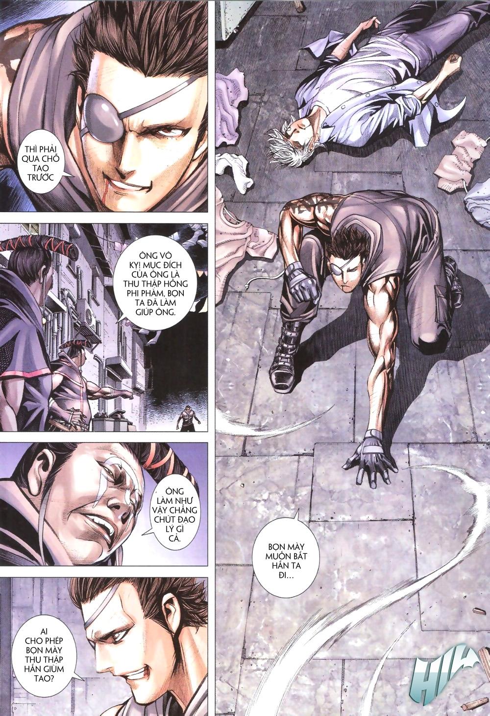 Đại Quân Phiệt chap 9 trang 15