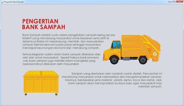 Form Pengertian Bank Sampah