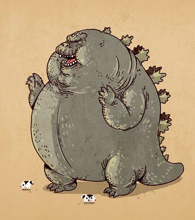 Oddworx aka Alex Solis (US) - Godzilla chunkie