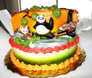 kue ulang tahun panda