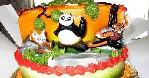 Sebelas Gambar Kue Ulang Tahun Kung Fu Panda Kumpulan