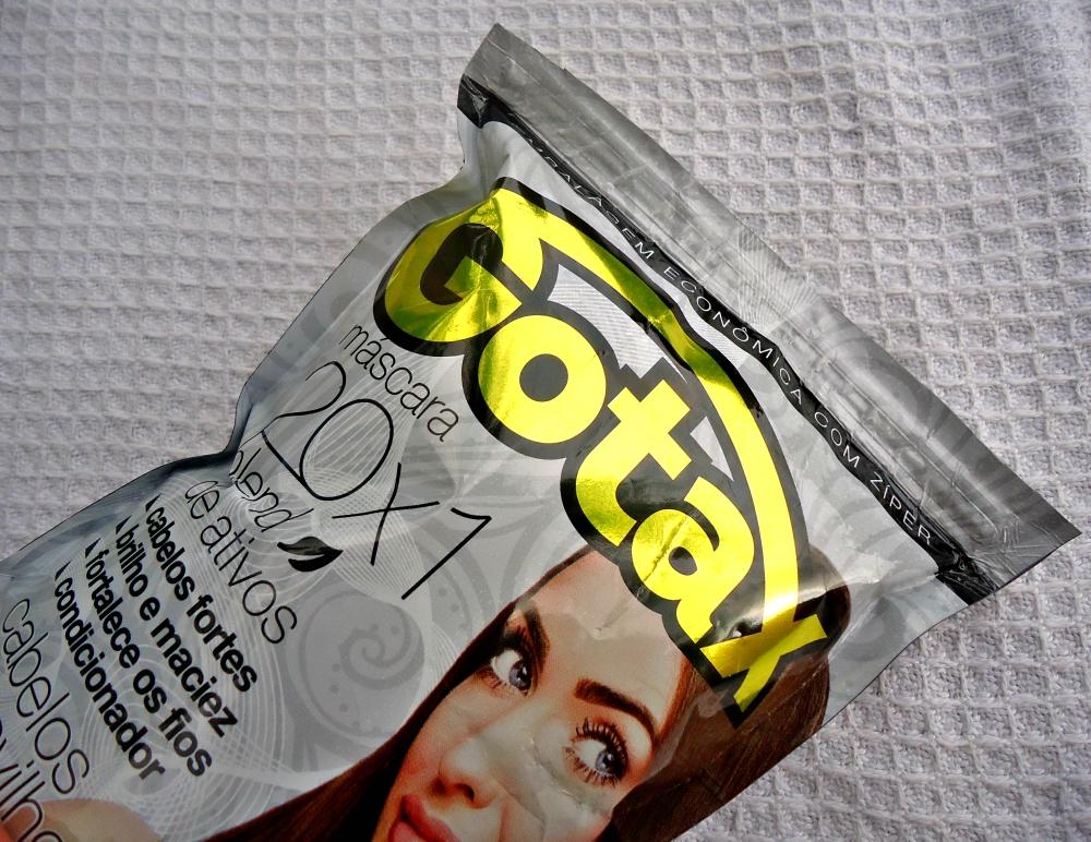 Máscara GOTAX 20x1