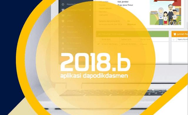 Download Aplikasi Dapodik 2018.b Beserta Panduan Penggunaan