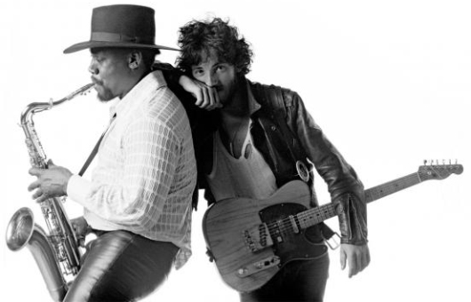 Clarence Clemons y Bruce Springsteen