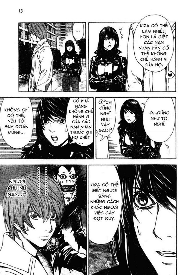 Death Note chapter 012 trang 14