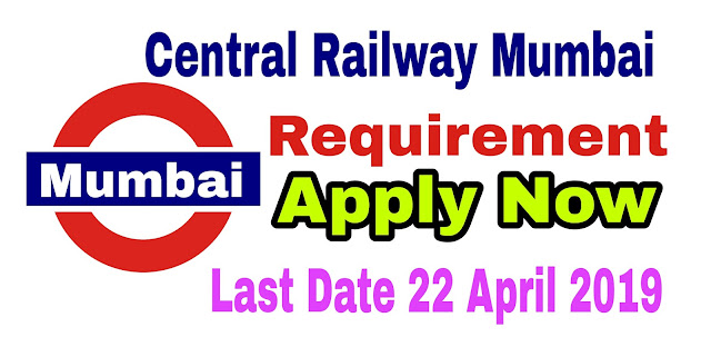 Central Railway, Mumbai recruitment 2019: Application for Senior Resident posts |  Gov Job 2019
