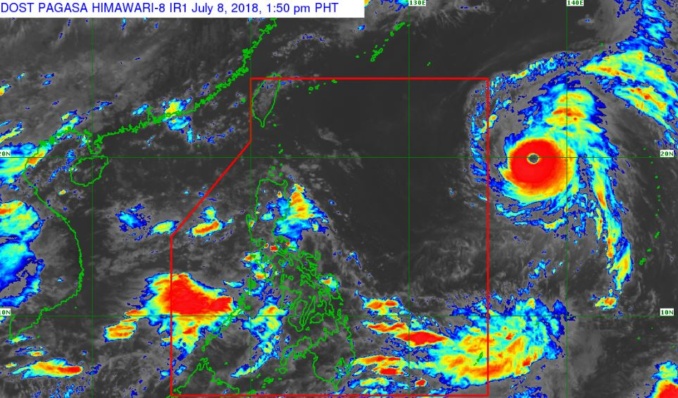 'Super Typhoon' Maria PAGASA weather update July 8, 2018