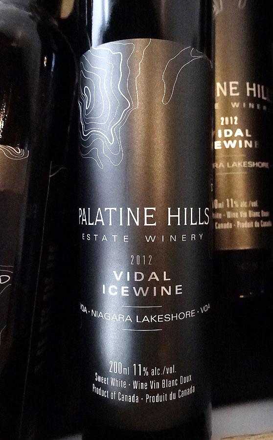 Palatine Hills Vidal Icewine 2012 (89 pts)