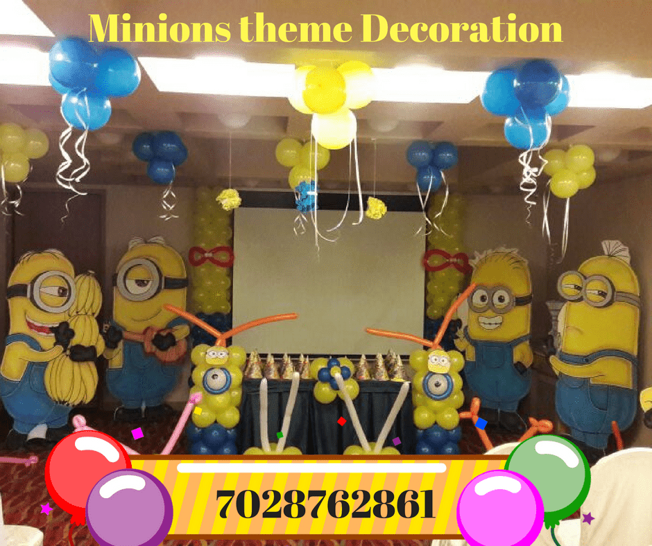 With Birthday Decoration Fun Is Very Important On Childs So We Offer Entertainers And