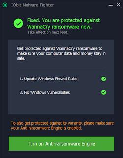 IMF da Iobit vs WannaCry