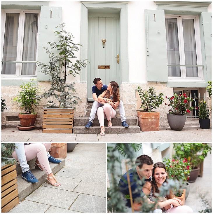 photo couple rue paris photographe