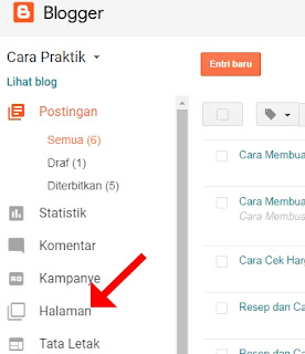 halaman blogger