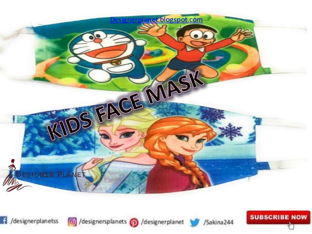 Face masks for kids | Disney Frozen face masks for Kids| Designerplanet