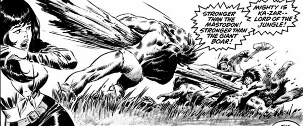 Savage Tales #6, Ka-Zar attacks