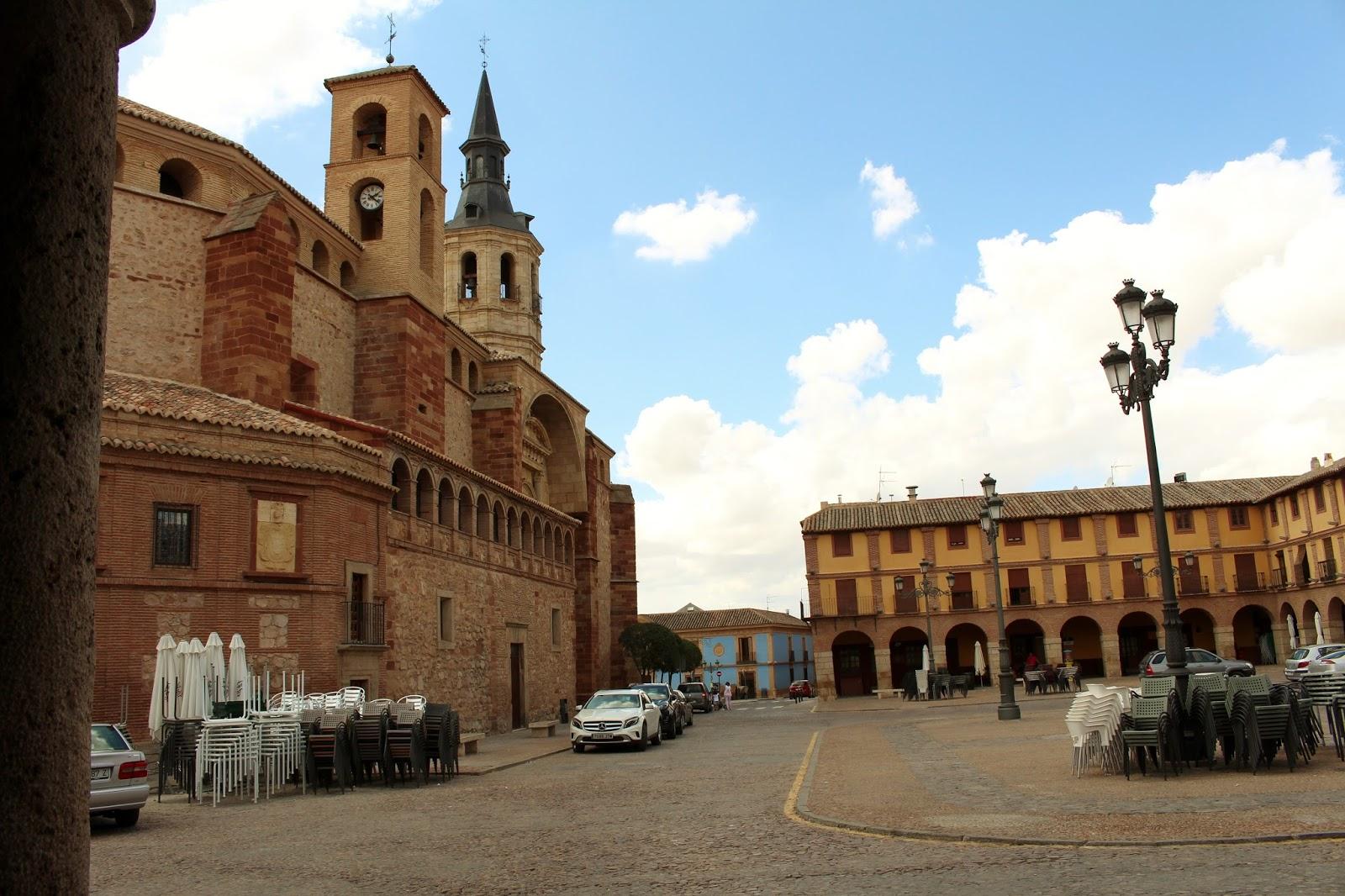 Rincones ibericos la solana ciudad real castilla la - Parroquia santa catalina la solana ...