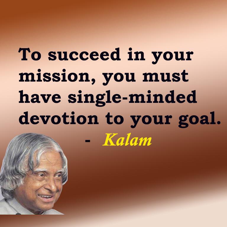 TOP 10 Inspirational Quotes By APJ ABDUL KALAM