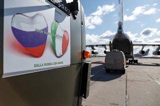 Bantuan Untuk Italia - From Rusia With Love