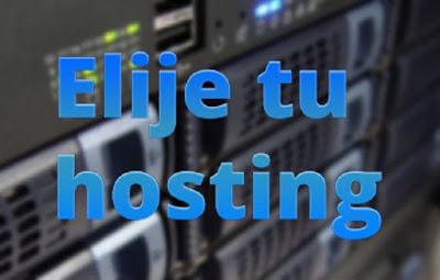 Seleccionar servicio de web hosting gratis