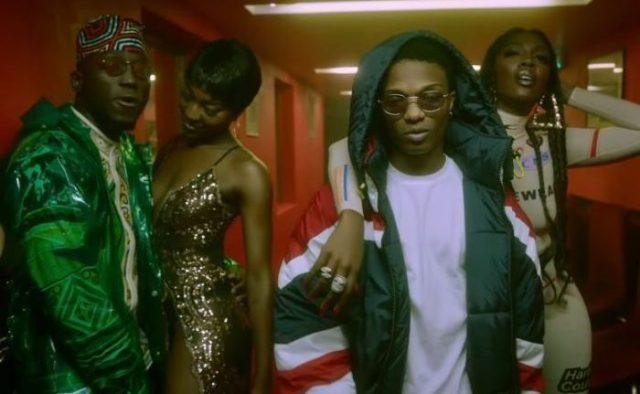 Download Video   DJ Spinall ft. Wizkid, Tiwa Savage – Dis Love