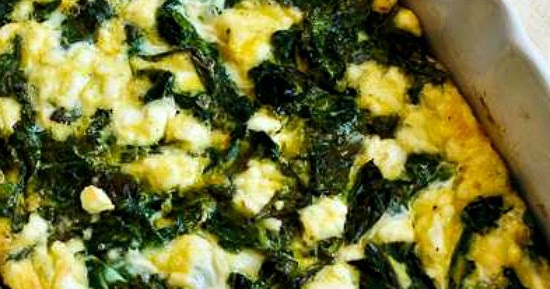 Kalyn's Kitchen®: Kale and Feta Breakfast Casserole