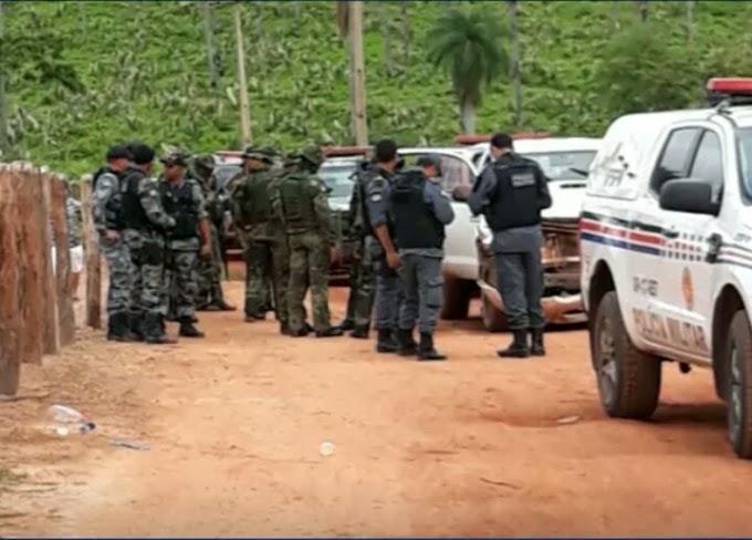 JÁ ERA - Suspeitos de explodir banco são presos no Maranhão