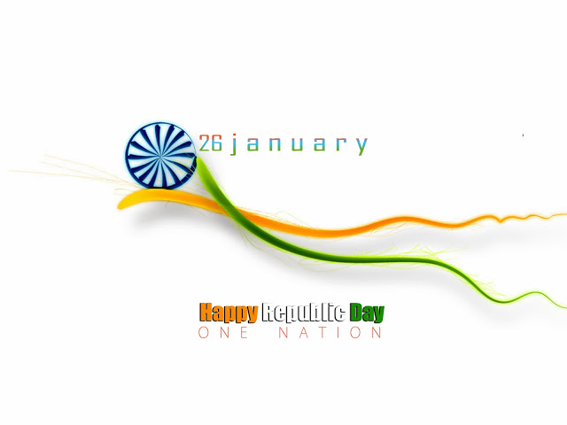 Happy Republic Day of India SMS Messages and 26 January Wallpapers