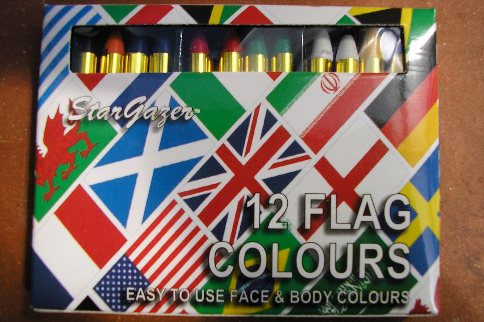Flag Face Paints