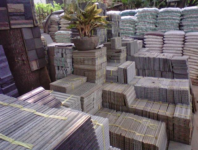 gambar pagar rumah bahan batu alam