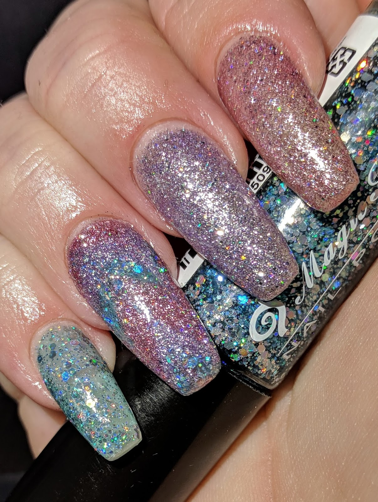 Inky Whisker\'s Musings: 26 Great Nail Art Ideas Presents ~ Using a ...