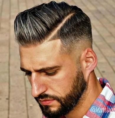 gaya rambut pendek pria 2018