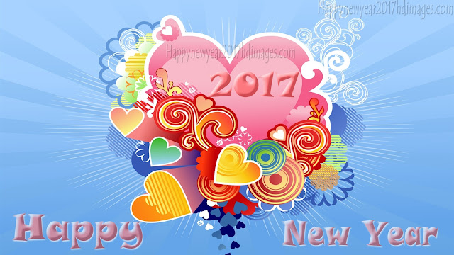 Happy New Year 2017 Love Desktop Wallpapers 1080p
