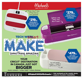 Michaels Canada Flyer valid May 17 - 23, 2019