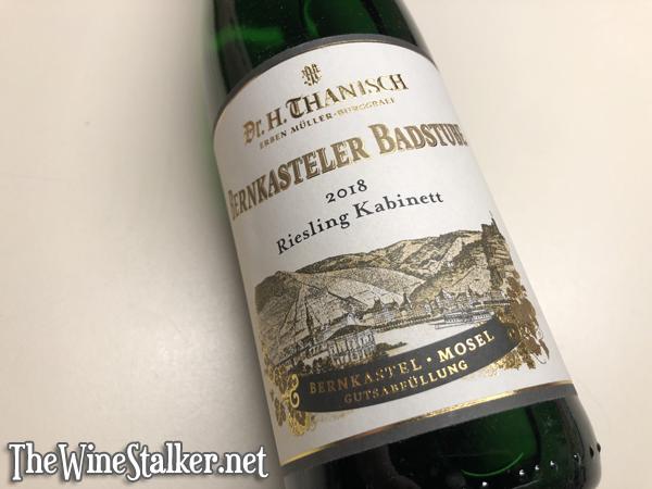 Dr. H. Thanisch Bernkasteler Badstube Riesling Kabinett 2018