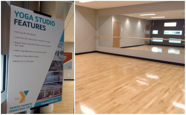 Parker Hannifin @CLEDowntownY Yoga Studio at @TheGalleriaCLE  #LivePlayEat