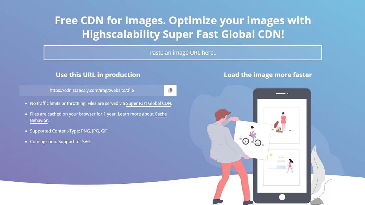 CDN Staticaly Pada Gambar Blogger Dengan Javascript