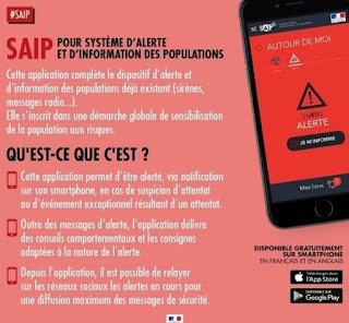 IL GOVERNO FRANCESE REALIZZA UNA APP CHE CI INFORMA SUGLI ATTENTATI TERRORISTICI