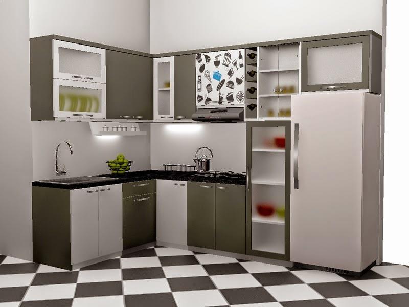 bahan kitchen set minimalis