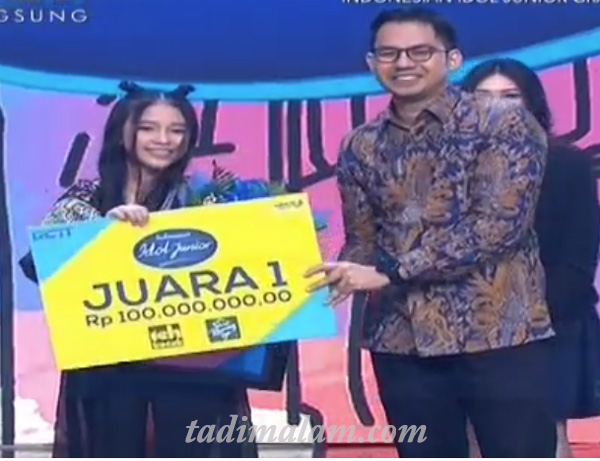 Juara Pemenang Indonesian Idol Junior 14 Desember 2018 ...