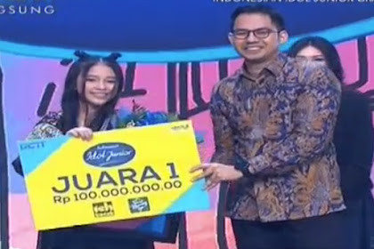 Juara Pemenang Indonesian Idol Junior 14 Desember 2018