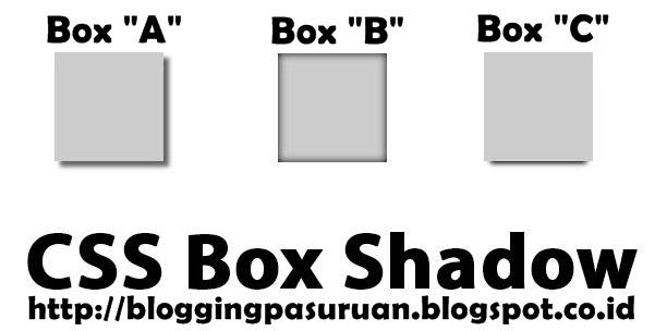 Membuat Efek Bayangan (Box Shadow) Dengan CSS