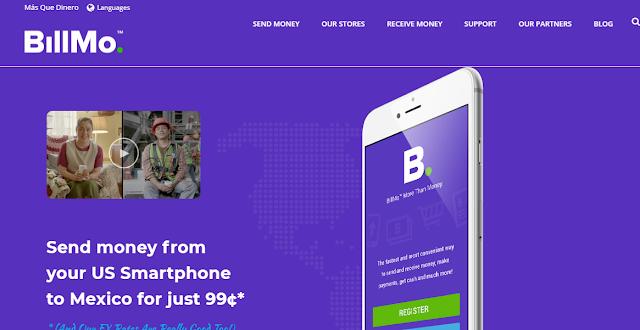 Bill Mo: Te regala $50 por registrarte y $50 por cada referido - App