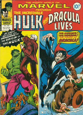 Mighty World of Marvel #248, Hulk and Dracula