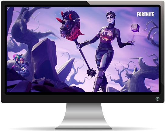 Fortnite Dark Bomber - Fond d'écran en Full HD