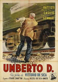 Umberto D. movie poster