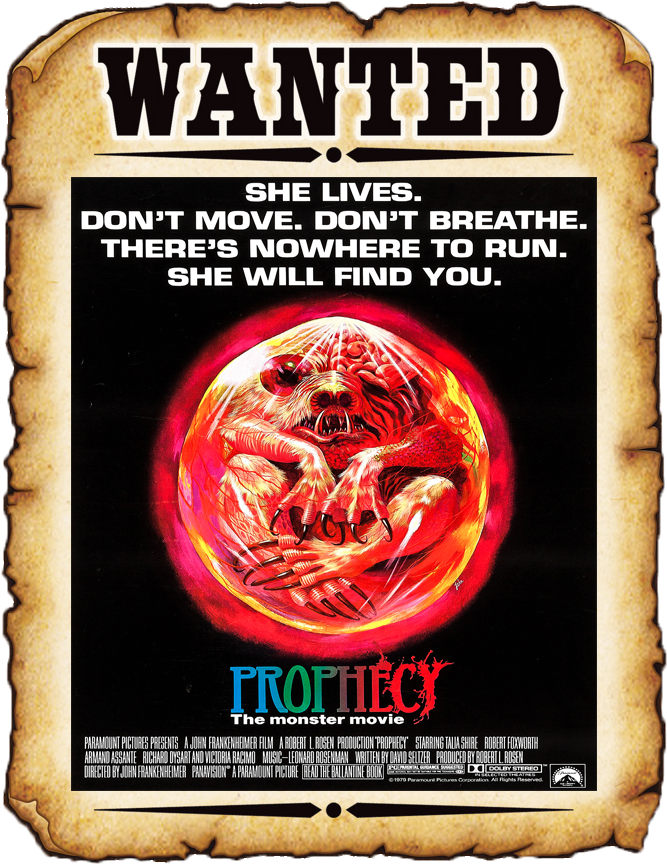 THE B-MOVIE NEWS VAULT: WANTED ON BLU-RAY: PROPHECY (1979)
