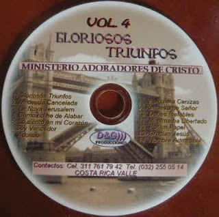 Ministerio Adoradores De Cristo-Vol 4-Gloriosos Triunfos-
