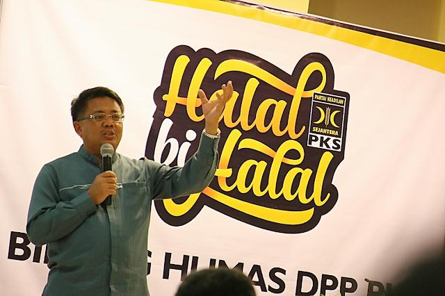 Presiden PKS : Humas Harus Tunjukkan Komunikasi Positif Pada Rakyat