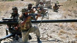 Image result for पाकिस्तान के ऑपरेशन में एक मेजर की मौत, मारे गए पांच आतंकी