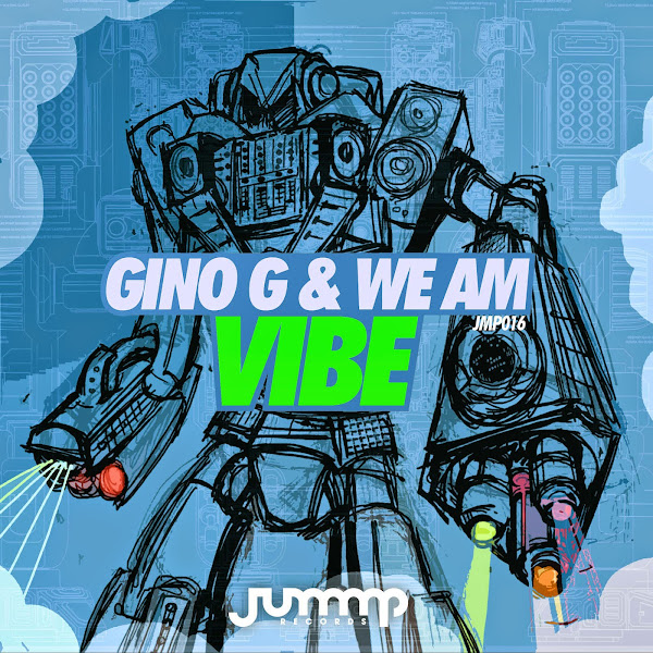 Gino G & We Am - Vibe - Single  Cover
